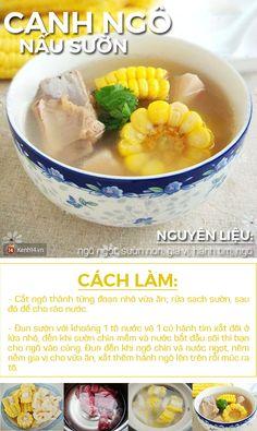Menu không cần thịt mà vẫn đầy đủ chua - cay - mặn Baby Food Recipes, Cooking Recipes, Healthy Recipes, Helathy Food, Vietnamese Recipes, Asian Cooking, Food Design, Food To Make, Clean Eating