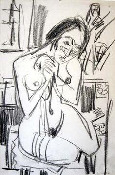 Ernst Kirchner  drawing