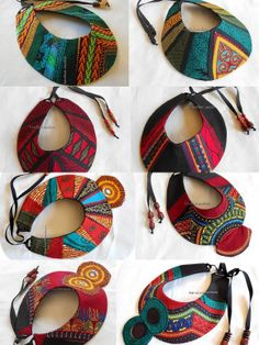 www.cewax.fr aime les bijoux en tissus africains de Barefoot modiste