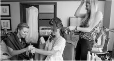 Bride - going to the salon or hiring a team on location? A Team, Salons, Hair Makeup, Bride, Hair Styles, Blog, Photography, Fashion, Wedding Bride