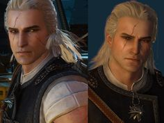 An incredibly young and pretty Geralt [[ Totally lore breaking ]] Now with Younger Geralt version Compatible with Blood and Wine DLC & Patch GOTY Edition The Witcher Game, The Witcher Geralt, Witcher Art, Witcher 3 Wild Hunt, Ciri, Weird Creatures, How To Be Likeable, Comic Movies, Fantasy Warrior