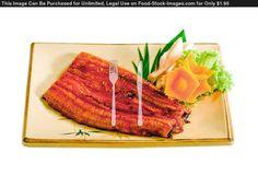 asian food Display   Grilled Eel Japanese Food Menu Display On Dish A Taste Of Asian Food