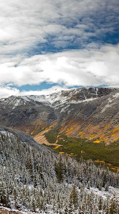 Vertical Panoramic of the Beartooth Mountains in Montana