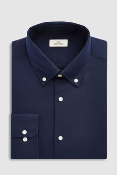 Buy Pale Blue Slim Fit Single Cuff Easy Care Oxford Shirt from the Next UK online shop Fashion Days, Mens Fashion, Formal Shirts For Men, Slim Fit Polo Shirts, Designer Bridesmaid Dresses, Tie And Pocket Square, Kurta Designs, Occasion Wear, Oxford