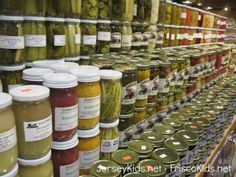 Philly: Reading Terminal Market - Jersey Kids - pickled items
