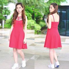 Doll Up Dress, Sunniesstudio Sunnies, Lacoste Footwear