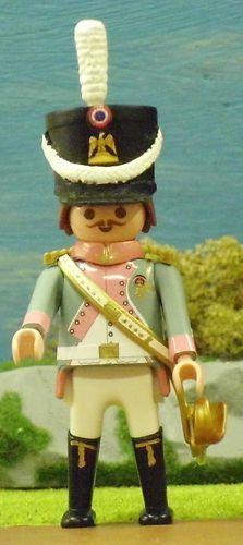 FRANZOSE OFFIZIER Garde Soldat Napoleon 1er Empire PLAYMOBIL © CUSTOM UNIKAT 48