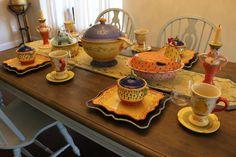 Pistoulet rabbit & hen casserole Square Plate Set, Plate Sets, Soup Crocks, Casserole, Candlesticks, Hens, Pedestal, Coasters, Bread