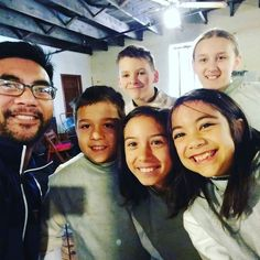 All-American Fencing Academy youth fencing crew today we were outnumbered by Apex but they fenced hard and well!
