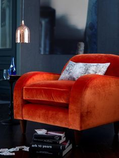 Using velvet in a stunning statement chair is the perfect way to introduce this winter 16/17 trend into your home. There are many types of velvet, so well worth checking out the right one for your home, and how to introduce it. Cushions, curtains, stools,