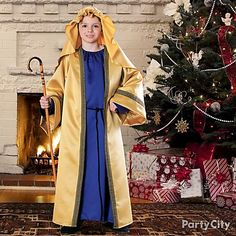 Christmas costumes bring the Christmas story to life! The kids will love playing their part in the nativity scene.