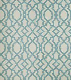 Home Decor Print Fabric- Bella Dura Lattice Pride Pool: home decor fabric: fabric: Shop | Joann.com