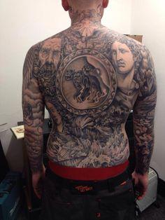 Kye Stacy tattoo