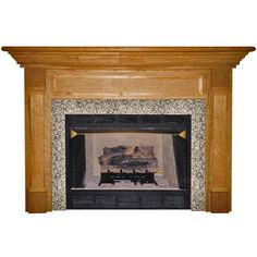 Have to have it. Agee Woodworks Harcourt Wood Fireplace Mantel Surround - $759.99 @hayneedle.com