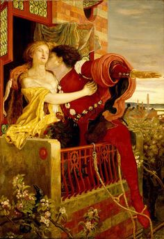 Ford Madox Brown  Romeo and Julliet