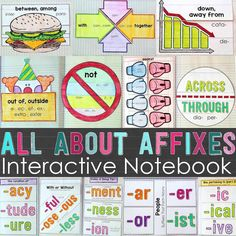 Greek and Latin Roots, Prefixes, Suffixes Ultimate Bundle • Teacher Thrive Roots Book, Latin Root Words, Prefixes And Suffixes, Sketch Notes, English Language Arts, Interactive Notebooks, Word Work, Fourth Grade, Spelling