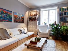 Such a great apartment living room