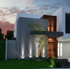 Unbelievable Modern Architecture Designs – My Life Spot Modern Exterior House Designs, Modern House Facades, Modern Villa Design, Design Exterior, Dream House Exterior, Modern Architecture House, Architecture Design, Home Building Design, House Front Design