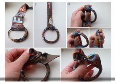 how to make a twilly bangle