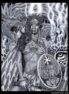 Aztec Women Warriors | aztec warrior graphics and comments