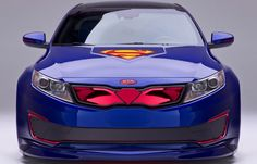 Kia Optima Inspired by Superman