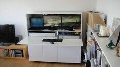 Ikea Hack: Mueble-Escritorio Besta