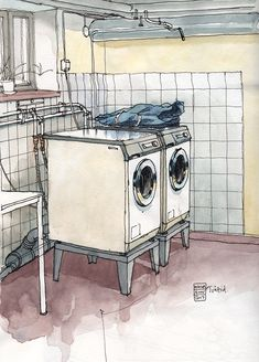 Nina Johansson  » Blog Archive   » Drawing everyday chores