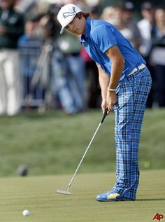 Rickie Fowler... Best dressed kid on the course.  simpleswingthoughts.com