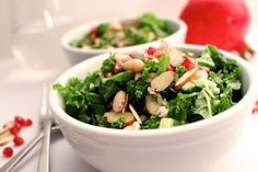 ... apple salad with toasted walnuts, blue cheese, pomegranate vinaigrette