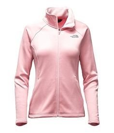 55fb0e5bfd The North Face Agave Full Zip Womens Purdy Pink Heather Medium     Read more