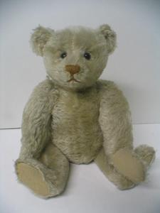 "Antique Vintage Estate Find Steiff 15"" Teddy Bear Plain Ear Button Pre 1904   eBay"