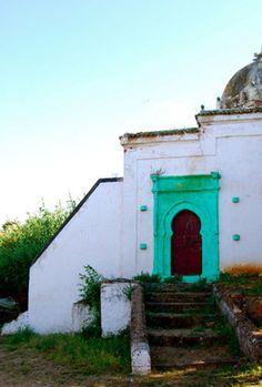 Door to Morocco Art Print