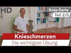 Knieschmerzen mittig // Übungen gegen Knieschmerzen, Meniskuschmerzen, Faszien, Faszientraining - YouTube