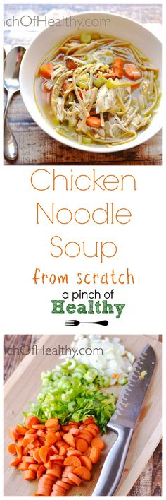 You may never buy the canned stuff again after you make this chicken noodle soup from scratch.