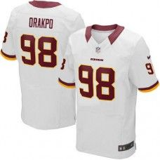 Elite Youth Nike Washington Redskins #98 Brian Orakpo White NFL Jersey $79.99
