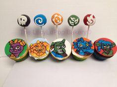 Skylander CakePops and Cupcakes