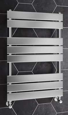 Brenton Sundoro Chrome Straight Heated Designer Towel Rail - X Designer Radiator, Towel Rail, Chrome, House, Home Decor, Towel Racks, Decoration Home, Home, Room Decor