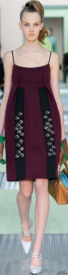 Miuccia Prada Fall 2015 in Milan Use of structure & detail unlike any other