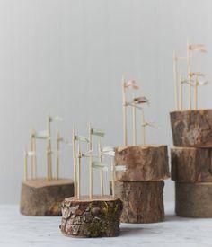 wood flag holders : herriott grace