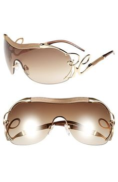 927b17a81c96 Free shipping and returns on Roberto Cavalli 'Botein' Shield Sunglasses at  Nordstrom.com