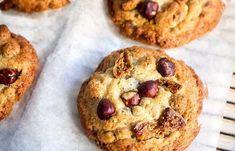 cookies aux figues et noisettes au Thermomix, des cookies pour Noël avec une douce odeur de cannelle, croustillants et moelleux.