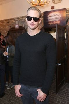 Pin for Later: 20 Pictures That Will Remind You Just How Handsome Alexander Skarsgard Is
