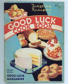 Good Luck Margarine cookbook
