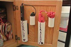 Cool DIY idea for your dorm! Keep your dorm room organized!