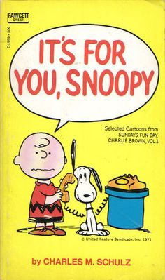 It's For You, Snoopy! - Sunday's Fun Day, Charlie Brown; Jan 1965