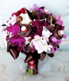 Candy Bouquets On Pinterest
