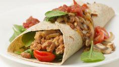 Healthy Families Eat Beans: Bean Tortilla Roll-Ups