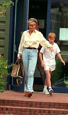 Princess Diana & Prince Harry