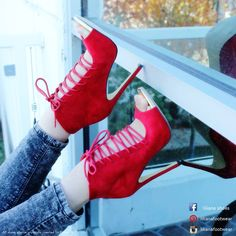 Liliana Shoes crvene štikle crvene sandale red heels red sandals red shoes https://www.facebook.com/%C5%A0tiklahr-499632726757786/