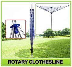 New Outdoor Portable Clothes Dryer Umbrella Clothesline Laundry Rack Hanger